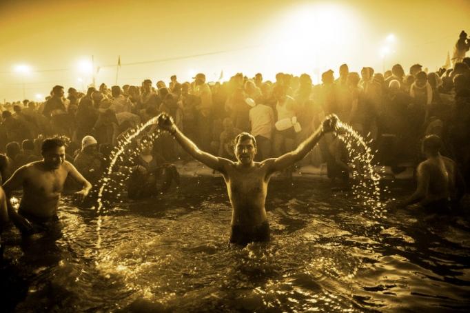 Hindu Devotees Gather For The Maha Kumbh